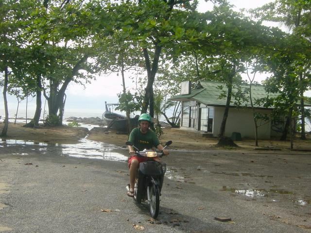 Moped fahren ist cool ...